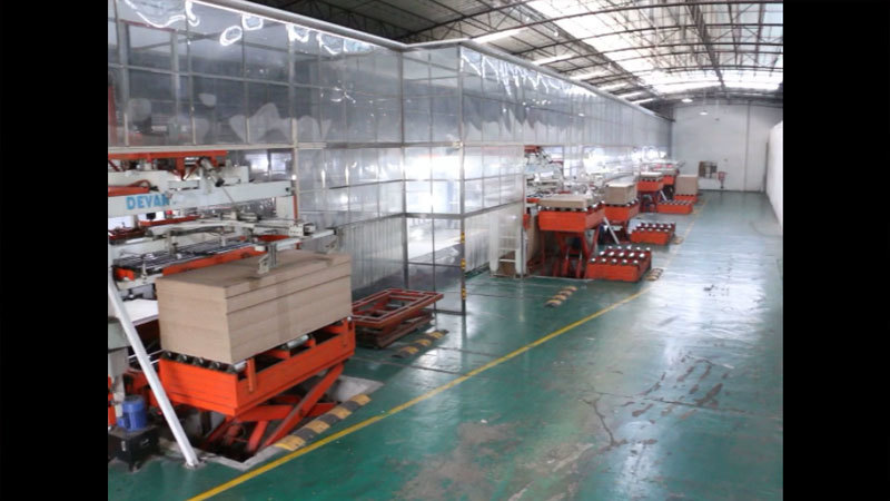 One Corner of Teehome Factory