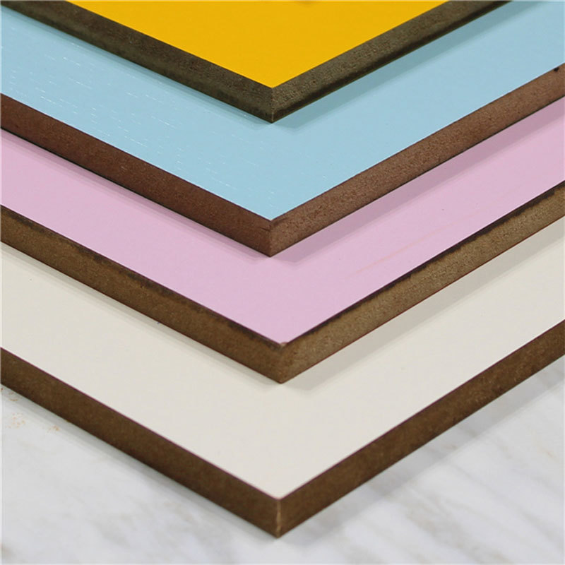Factory supply 3mm to 25mm raw particle / melamine board for furniture