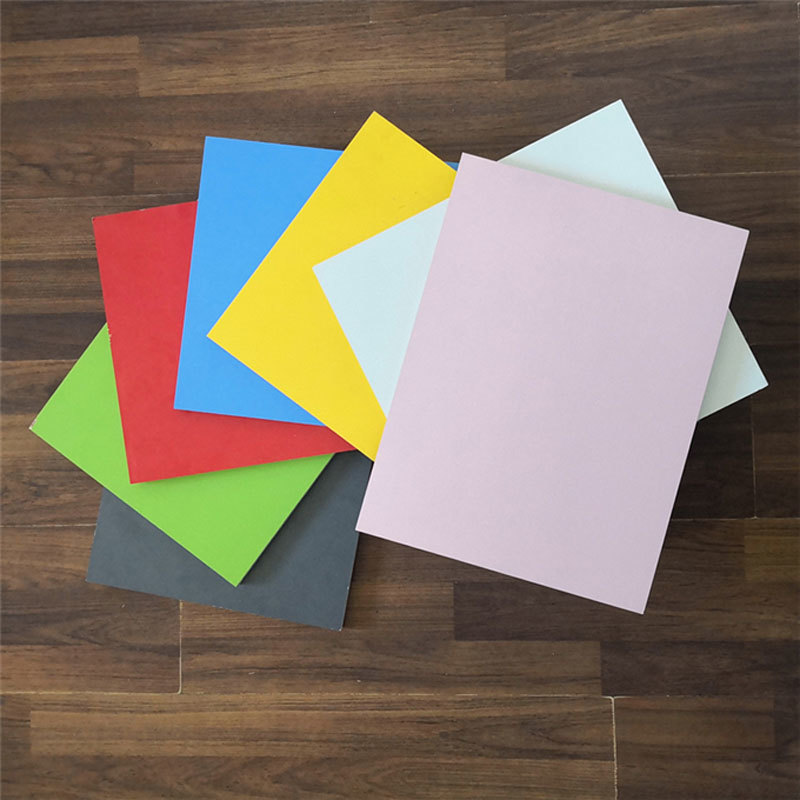 Good price synchronized particle board with melamine paper faced chipboard for office desk