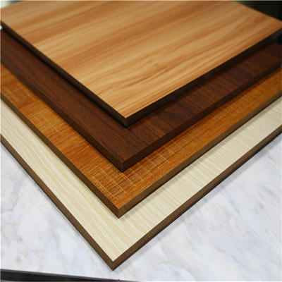 18mm thickness standard size melamine particle chipboard