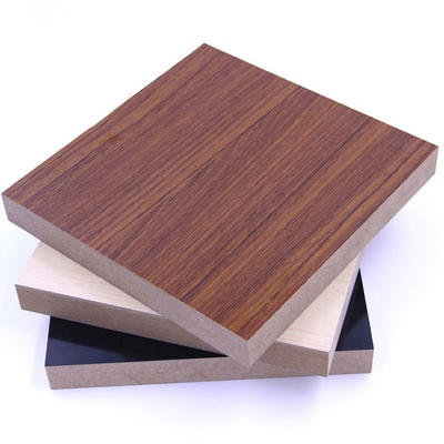 Manufacturers price texture melamine faced laminated chipboard wood particle board panels