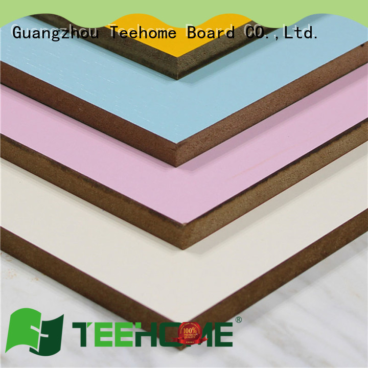 Teehome chipboard panels factory price for office furniture